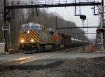 CREX 1429, BNSF 1060 on train K040